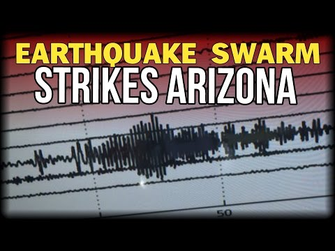 EARTHQUAKE SWARM STRIKES ARIZONA