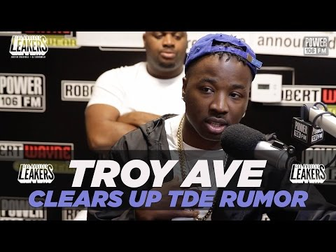 Troy Ave Clears Up TDE Signing Rumors + Talks 'NuPac' Album