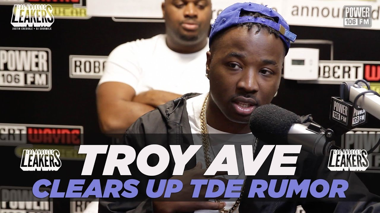 Troy Ave Clears Up TDE Signing Rumors Plus Talks 'NuPac' Album