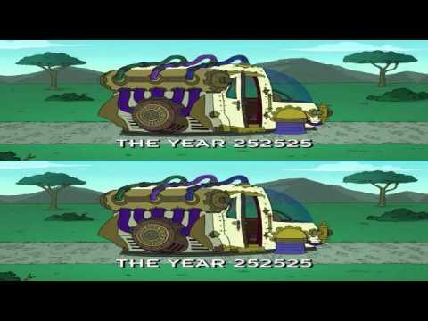 Futurama Sg  Year 252525  The Time Maschine Sg