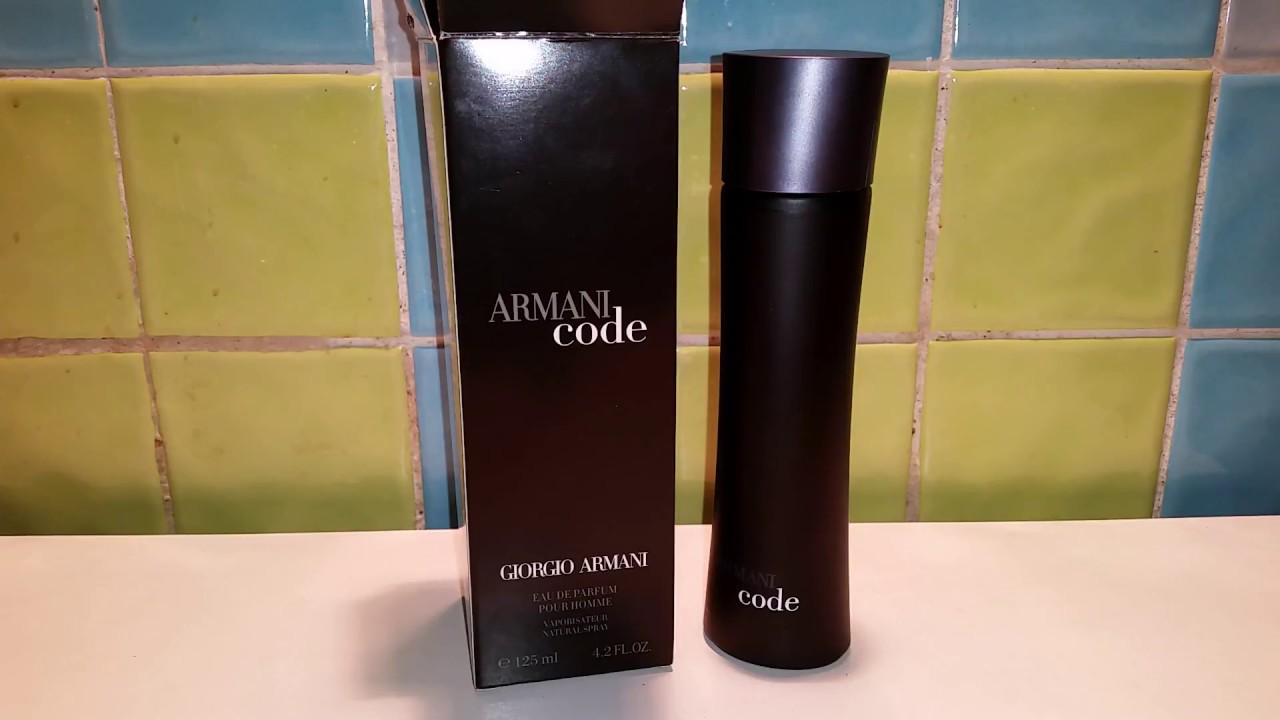 9773fab99f Giorgio Armani code 125 ml fake Caution!!!! - YouTube