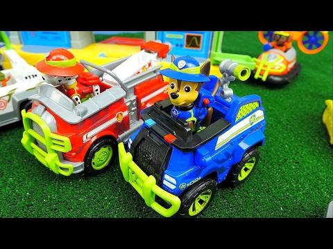 Щенячий Патруль новые серии с игрушками ВЕЗДЕХОД для Джунглей и Железная Дорога PAW PATROL TOYS