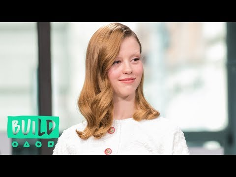Mia Goth And Dane DeHaan On Shooting With Eels