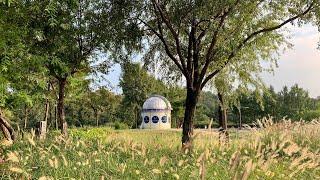 5개월 아기랑 유모차로 일자산 허브천문공원