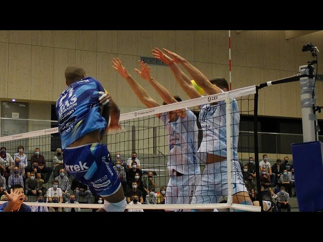 Highlights di Dinamo Mosca-Trentino Itas  0-3 (CEV Champions League, 2nd Round, Pool H)