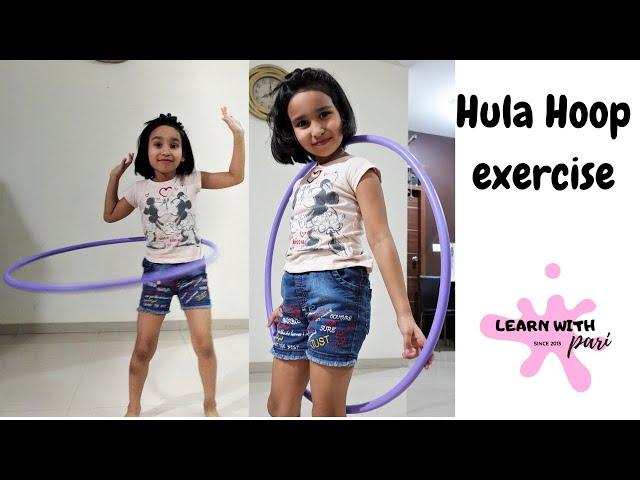 Hula hoop tricks for beginners | Hula hoop | hula hoop tutorial | LearnWithPari