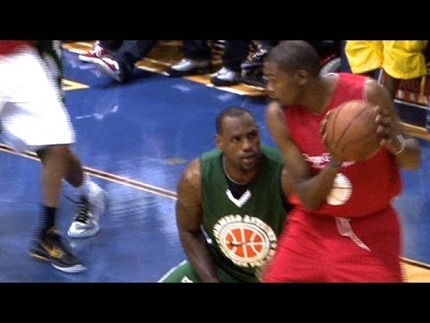 KD vs. LBJ Lockout Battle During the 2011 Lockout - 2012 NBA Finals Preview