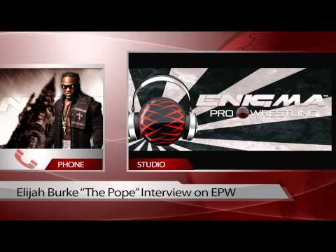 "ENIGMA PRO WRESTLING INTERVIEW ""The POPE""  ELIJAH BURKE"