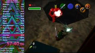 OoT: Any% No IM/WW Speedrun in 1:15:59.43 (WR)