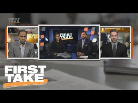 Is Adrian Peterson Or Randy Moss The Better Viking? | First Take | March 17, 2017