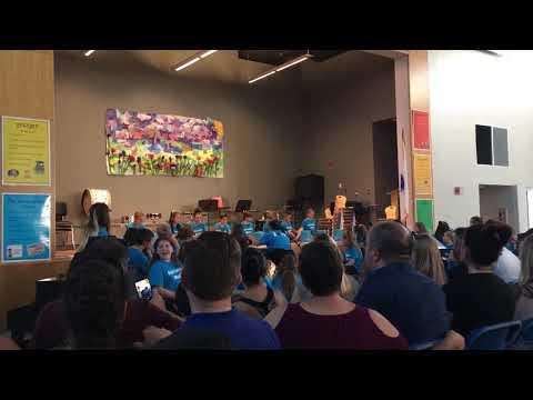 Bucket Jam, L. D. Batchelder School Spring Concert, June 6, 2019