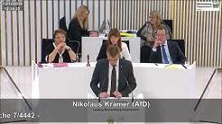 Nikolaus Kramer: Herkunft von Tatverdächtigen nennen!