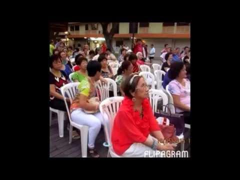 Queenstown Active ageing committee wellness karaoke 10/5/15