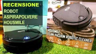 MIGLIOR ROBOT ASPIRAPOLVERE ECONOMICO: Recensione Housmile Vacuum Cleaner