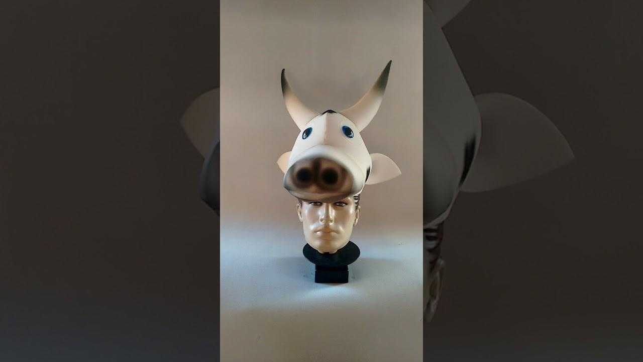 chapéu de vaca em espuma - YouTube fa8a9788d8e