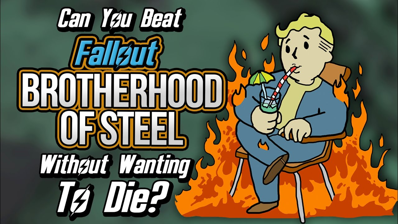 Can You Beat Fallout: Brotherhood of Steel Without Wanting To Die?