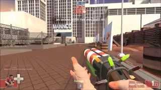 Team Fortress 2 Saxton Hale Gameplay