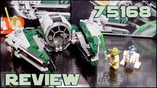 Lego Star Wars 75168 Yoda's Jedi Starfighter Review