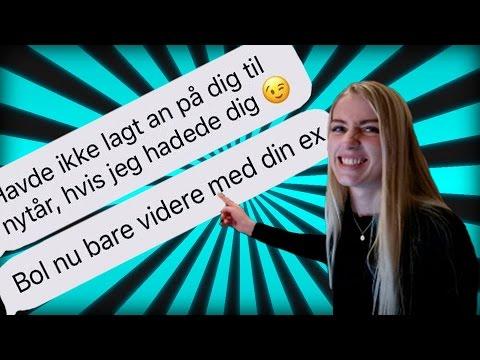 SONG LYRIC PRANK PÅ MIN EKS!! *dør af grin*