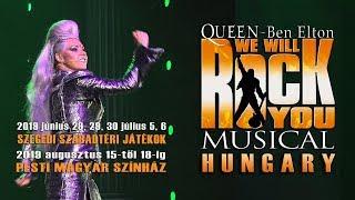We Will Rock You musical a Pesti Magyar Színházban 4K