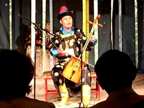 Buryat story teller 'ulgershin' 8