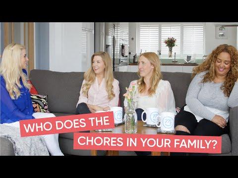 Chore Splitting | Mums Discuss with Channel Mum