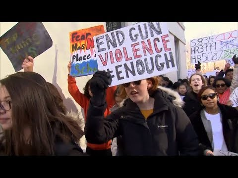 Enough! A Million Students Walk Out of Schools to Demand Action on Guns in Historic Day of Action