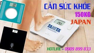 Cân điện tử cân người 100kg 150kg - cân sức khỏe 150kg - cân điện tử Tanita HD-378 HD-381 HD-661