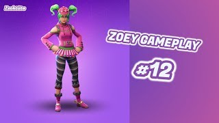 ZOEY SKIN GAMEPLAY!   FORTNITE #12   Let's Play Fortnite Battle Royale Deutsch