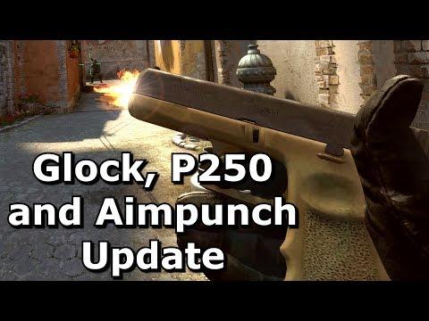 CS GO Glock and P250 Update - September 2017