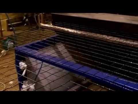 Линия по производству композитной сетки