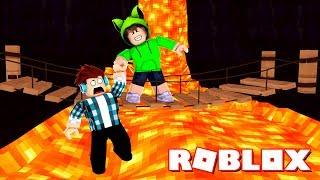 Roblox - CUIDADO COM O CHÃO DE LAVA !! (Roblox The Floor is Lava)