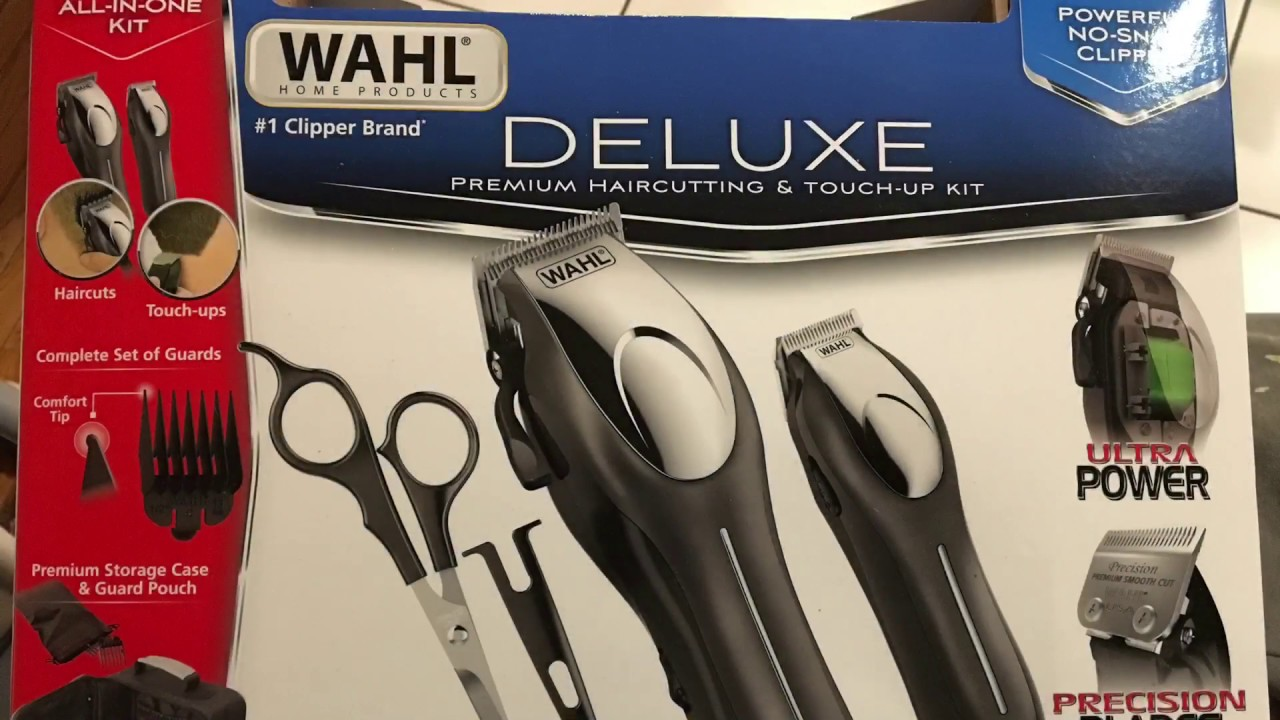 Wahl Deluxe Hair Clippers Review Razor Barber Costco