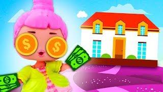 💰 ¡Mi LOL GANA $1,000,000 en LOTERÍA! ► 🌙 Novelas con muñecas y juguetes
