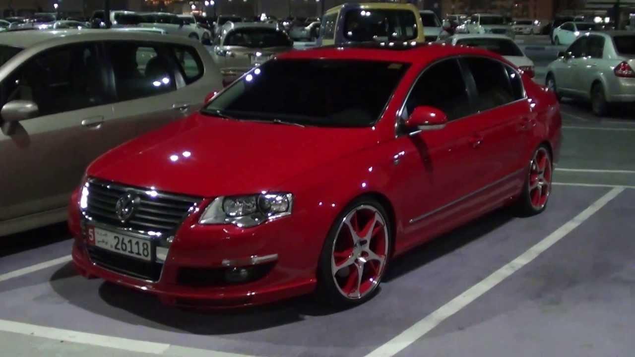 Vw Passat Abt Red Custom Full Hd Youtube