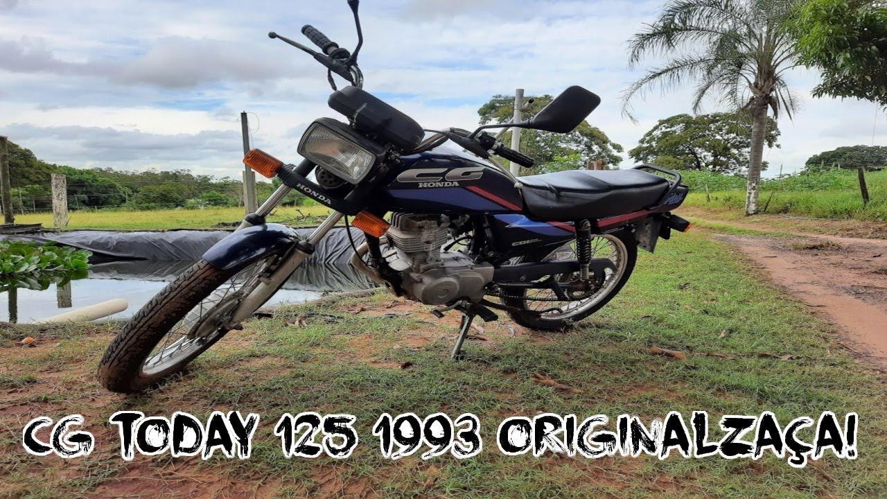 Rolezão de CG TODAY 125 1993 ORIGINAL!