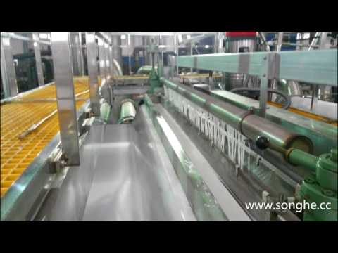 Fiberglass  Tissue machine