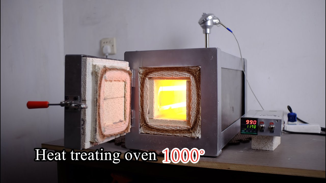 DIY Heat treating oven- build video