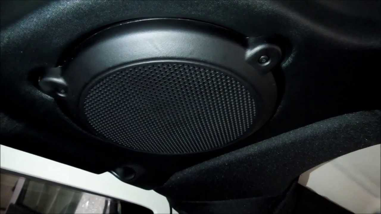 How to change speakers in jeep wrangler 2013 sport and