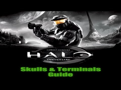 Halo: Combat Evolved Anniversary - Skulls & Terminals Guide