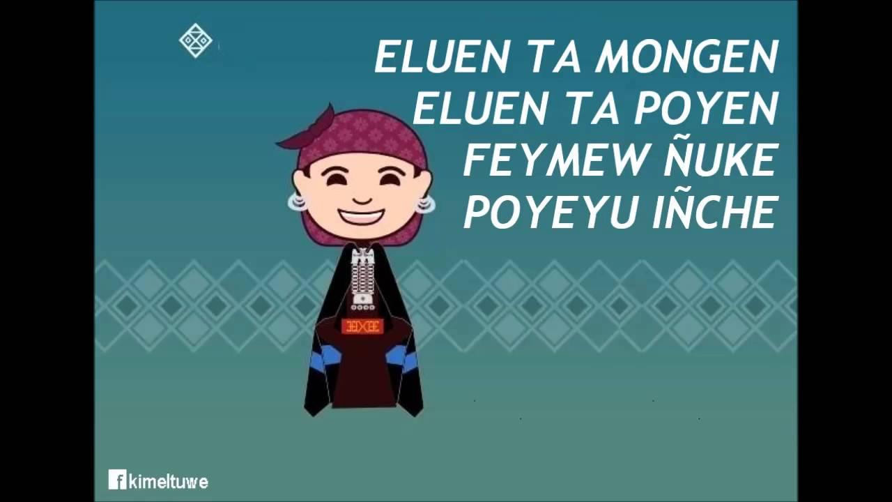 Frases De Amor En Portugués Traducidas Al Español: Madre Mía, Poema En Mapuzungun