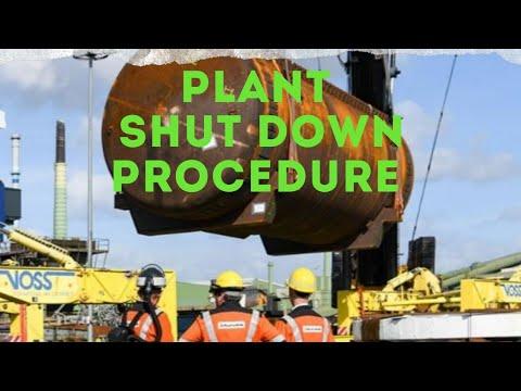 Shutdown procedure ( English )