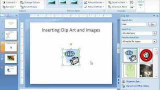 How to insert clip art into microsoft office powerpoint
