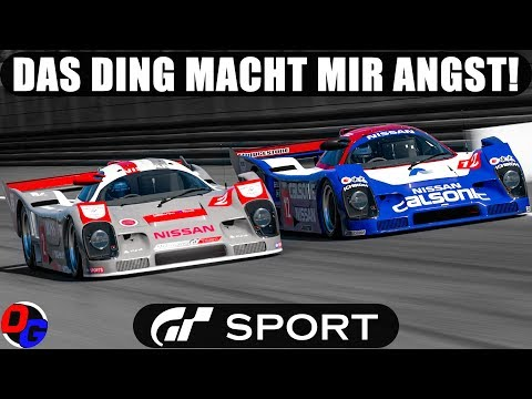 GT SPORT Let's Play Deutsch – Nissan R92CP in Monza | Gran Turismo 4K Online Gameplay German thumbnail