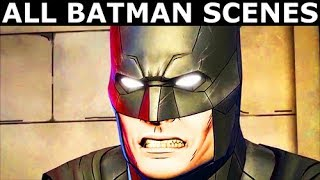 All Batman Scenes - BATMAN Season 2 The Enemy Within Episode 5: Same Stitch (Telltale Series)