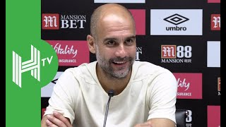 Pep Guardiola: I don't want to talk about VAR