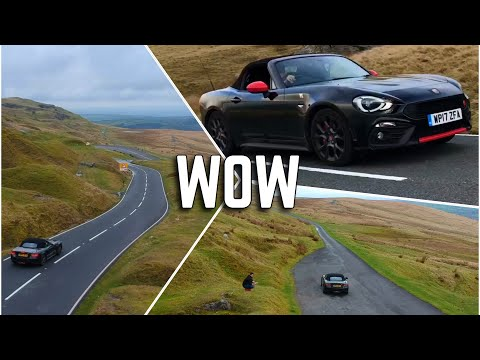 INSANE Abarth 124 Spider Review | Fiat Spider NOT like a Fiat 500
