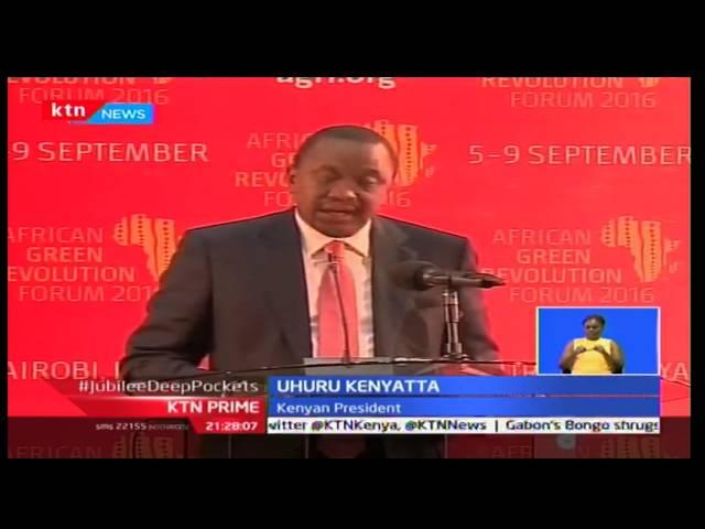 Eradicating Poverty: AGRF Kshs. 200 Billion Shillings to go to Agribusiness