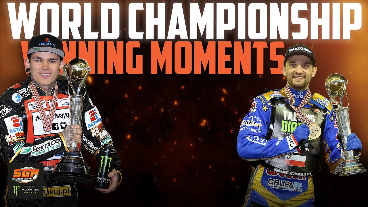 World Championship Winning Moments! 🏆 | FIM Speedway Grand Prix