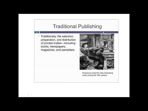 Electronic publishing Part